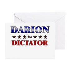 DARION for dictator Greeting Cards (Pk of 20)