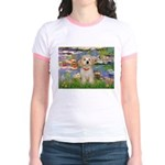 Lilies / Havanese Jr. Ringer T-Shirt