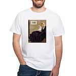 Whistler's / Havanese White T-Shirt