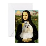 Mona / Havanese Greeting Cards (Pk of 10)