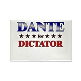 DANTE for dictator Rectangle Magnet (10 pack)
