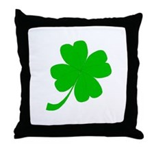 """Clover Me"" Throw Pillow"