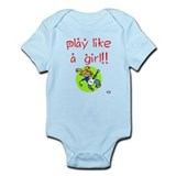 Guitar Girls ROCK! Infant Bodysuit