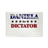 DANIELA for dictator Rectangle Magnet (10 pack)
