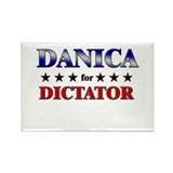 DANICA for dictator Rectangle Magnet