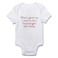 I Want To Be A Psychologist Infant Bodysuit