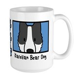 Anime Karelian Bear Dog Mug