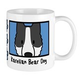 Anime Karelian Bear Dog Small Mugs
