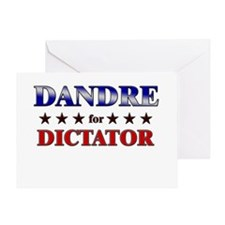 DANDRE for dictator Greeting Card