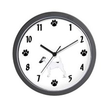 Fox Terrier Wall Clock