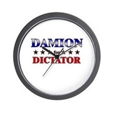 DAMION for dictator Wall Clock