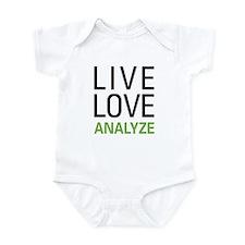 Live Love Analzye Infant Bodysuit