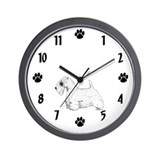 West Highland Terrier Wall Clock