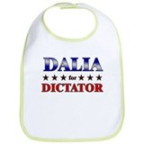 DALIA for dictator Bib