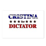 CRISTINA for dictator Postcards (Package of 8)