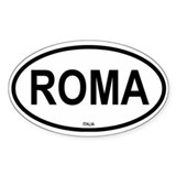 Roma Oval Decal