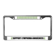Support Lymphoma Awareness License Plate Frame