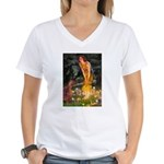 Fairies / Irish S Women's V-Neck T-Shirt