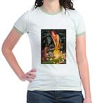 Fairies / Irish S Jr. Ringer T-Shirt