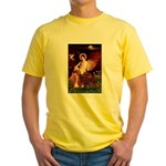 Angel / Irish Setter Yellow T-Shirt