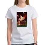 Angel / Irish Setter Women's T-Shirt
