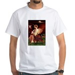Angel / Irish Setter White T-Shirt