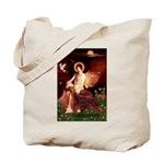 Angel / Irish Setter Tote Bag