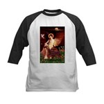 Angel / Irish Setter Kids Baseball Jersey
