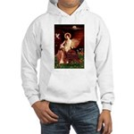 Angel / Irish Setter Hooded Sweatshirt