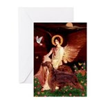 Angel / Irish Setter Greeting Cards (Pk of 20)