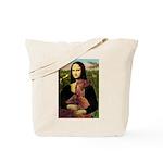 Mona /Irish Setter Tote Bag