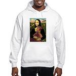 Mona /Irish Setter Hooded Sweatshirt
