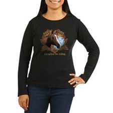 Rather Be Riding Horse Crest T-Shirt