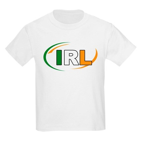 Country Code Ireland Kids Light T-Shirt