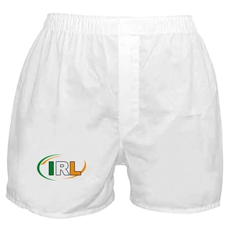 Country Code Ireland Boxer Shorts