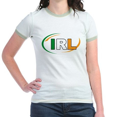 Country Code Ireland Jr. Ringer T-Shirt