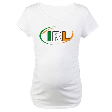 Country Code Ireland Maternity T-Shirt