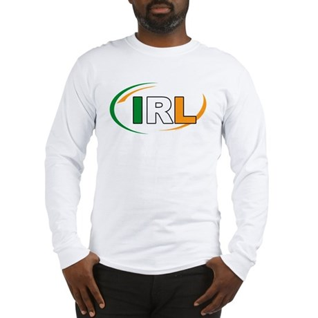 Country Code Ireland Long Sleeve T-Shirt