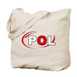 Country Code Poland Tote Bag