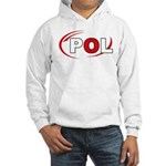 Country Code Poland Hooded Sweatshirt