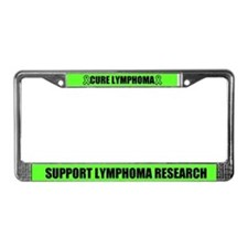 Cure Lymphoma License Plate Frame