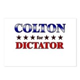COLTON for dictator Postcards (Package of 8)
