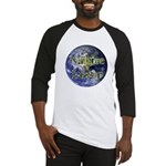 Nature Lover Earth Baseball Jersey