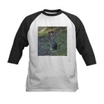 Black Tailed Jackrabbit Kids Baseball Jersey