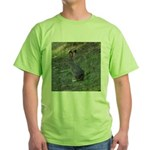Black Tailed Jackrabbit Green T-Shirt