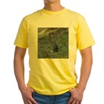 Black Tailed Jackrabbit Yellow T-Shirt