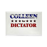 COLLEEN for dictator Rectangle Magnet (10 pack)