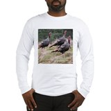 Three Tom Turkey Gobblers Long Sleeve T-Shirt