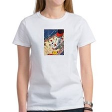 Art Deco Ocean Liner T-shirt