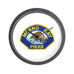 Morro Bay Police Wall Clock